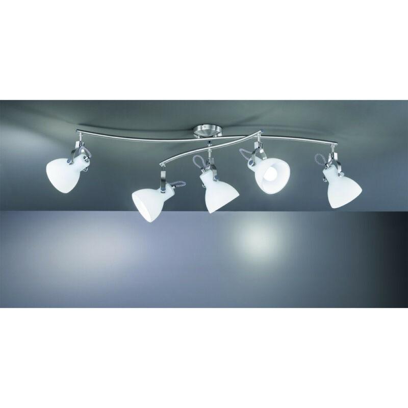 Trio GINELLI 601500507 mennyezeti lámpa  matt nikkel   fém   excl. 5 x E14, max. 28W   IP20