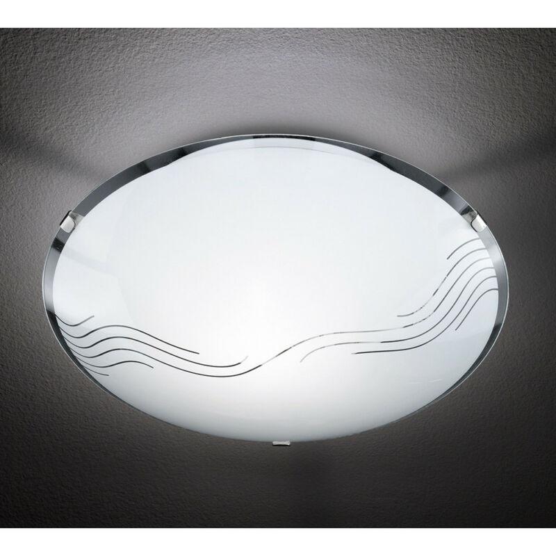 Trio NORA 602100100 ufó lámpa  matt nikkel   fém   excl. 1 x E27, max. 40W   IP20