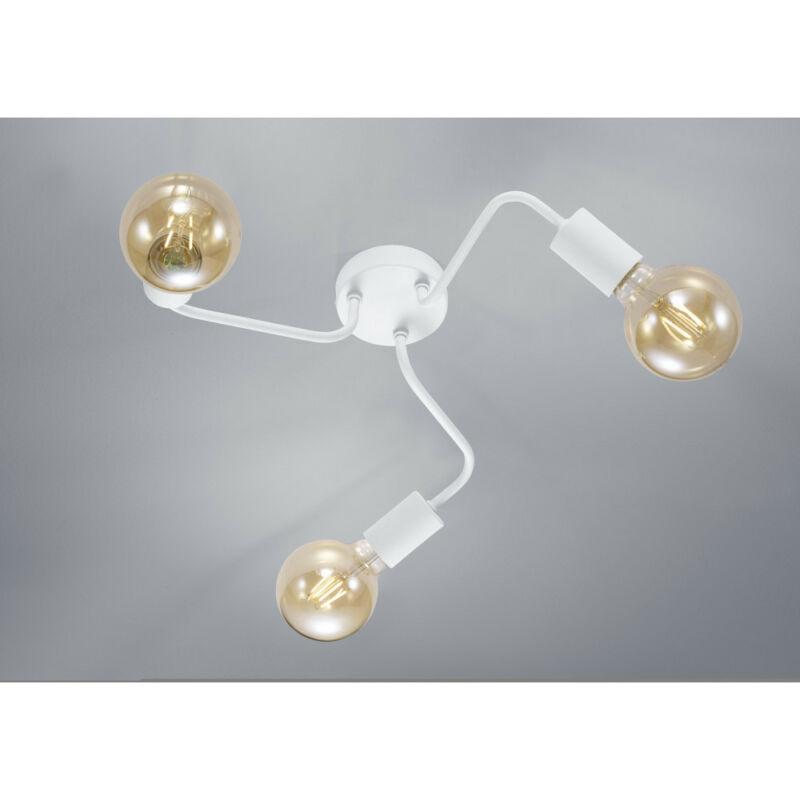 Trio DIALLO 608000331 mennyezeti lámpa  matt fehér   fém   excl. 3 x E27   E27   3 db  IP20