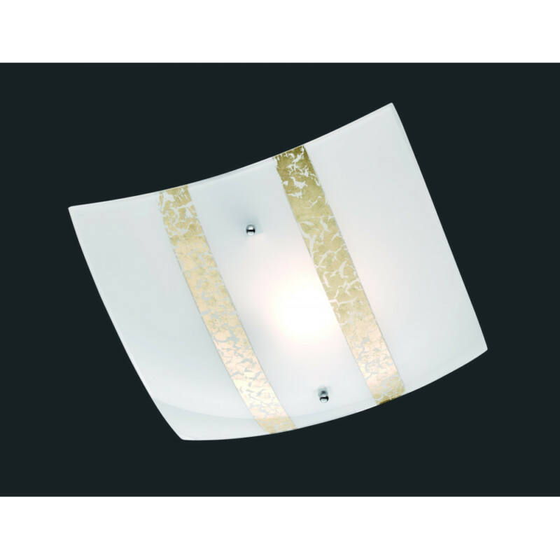 Trio NIKOSIA 608700179 mennyezeti lámpa  arany   üveg   excl. 1 x E27, max. 40W   IP20