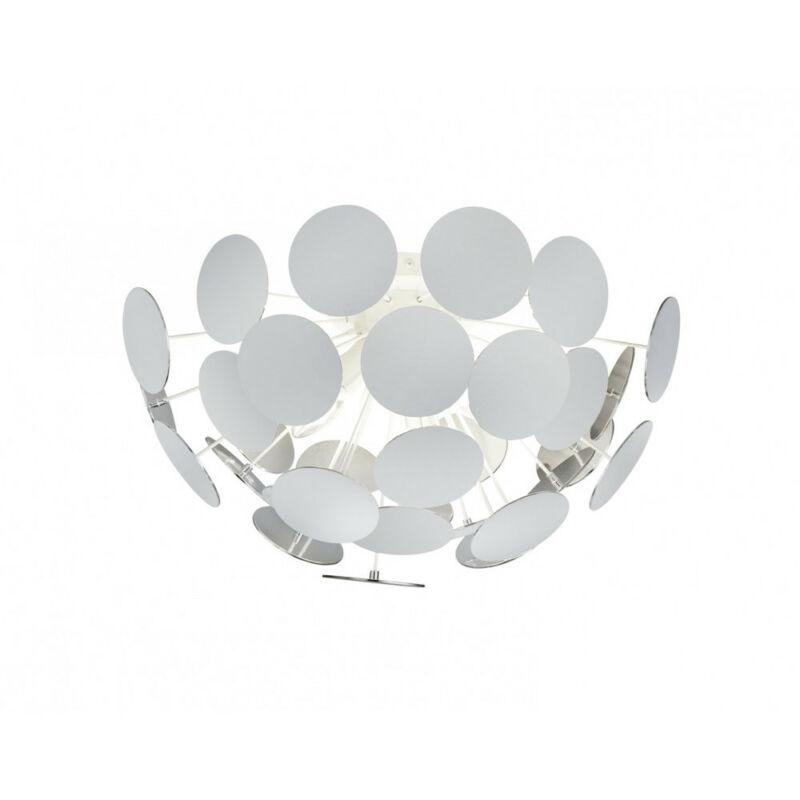 Trio DISCALGO 609900331 mennyezeti lámpa  matt fehér   fém   excl. 3 x E14, max. 40W   IP20