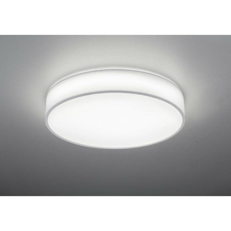 Trio LUGANO 621914001 mennyezeti lámpa  fehér   szövet   incl. 1 x SMD, 40W, 3000 - 5000K, 3300Lm   SMD   1 db  3300 lm  IP20   A