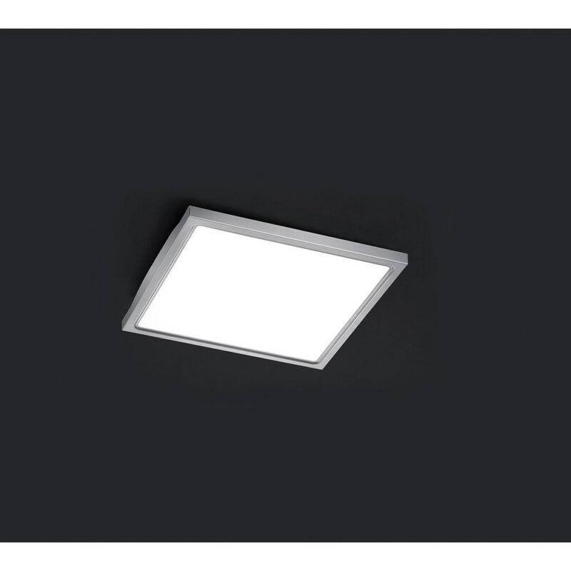 Trio FUTURE 622713007 mennyezeti lámpa matt nikkel acél incl. 1 x SMD, 12W, 3500K, 1100Lm 1100 lm 3000 K IP44 A+