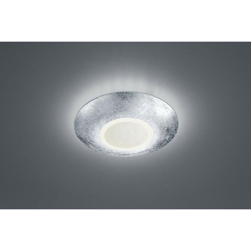 Trio CHIROS 624110289 mennyezeti lámpa  ezüst   fém   incl. 1 x SMD, 12W, 3000K, 1100Lm   1100 lm  3000 K  IP20   A+