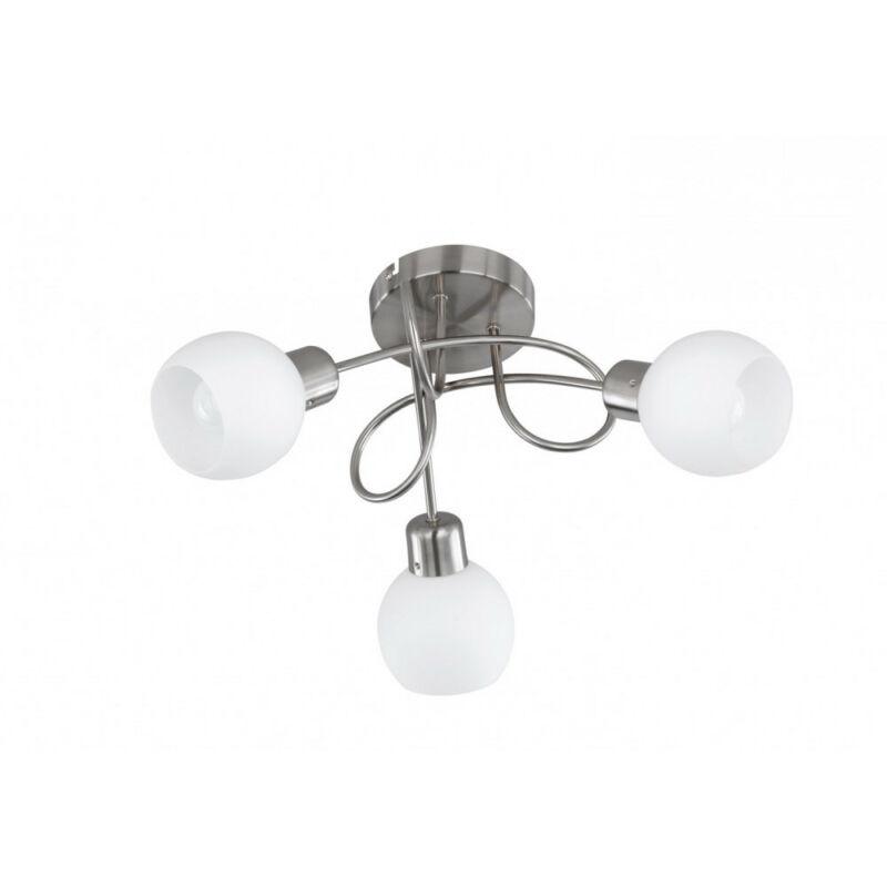Trio FREDDY 624830307 mennyezeti lámpa nikkel fém incl. 3 x E14, 4W, 3000K, 320Lm E14 3 db 930 lm 2700 K IP20