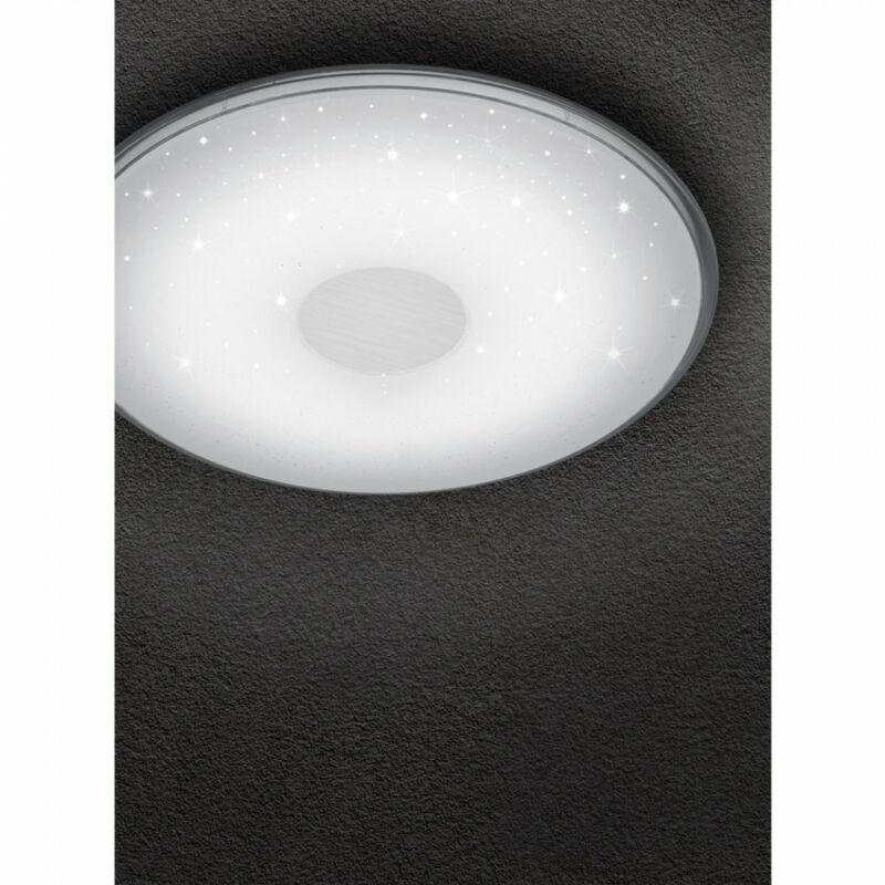 Trio SHOGUN 628513001 mennyezeti lámpa  fehér   műanyag   incl. 1 x SMD, 21,5W, 3000 - 5500K, 2400Lm   2400 lm  3000 K  IP20   A