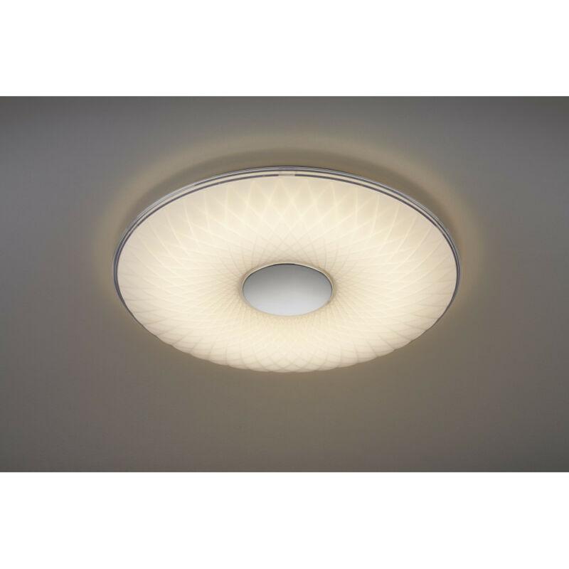 Trio LOTUS 629010101 mennyezeti lámpa  fehér   műanyag   incl. 1 x SMD, 45W, 3000 - 5500K, 4000Lm   SMD   1 db  4000 lm  IP20   A+