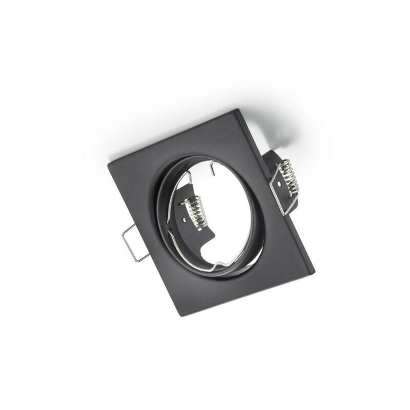 Trio JURA 650000132 spot lámpa keret matt fekete fém excl. 1 x GU10, max. 15W GU10 1 db IP20