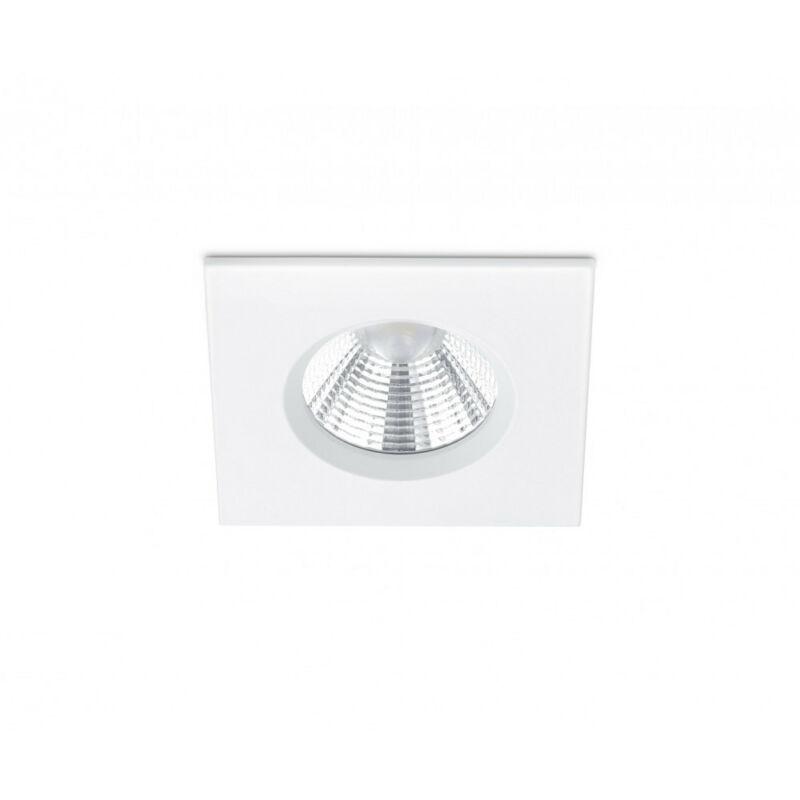 Trio ZAGROS 650610131 álmennyezetbe építhető lámpa matt fehér fém incl. 1 x SMD, 5,5W, 3000K, 345Lm SMD 1 db 345 lm IP65 A
