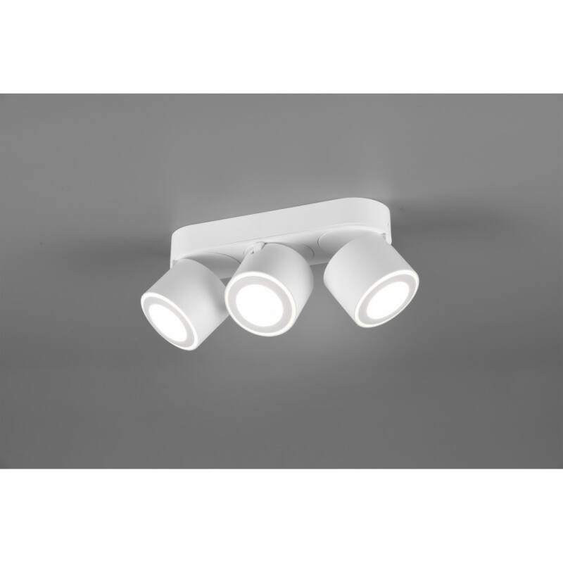 Trio TAURUS 652910331 mennyezeti spot lámpa incl. 3x3W/340Lm+3x1,5W/110Lm LED/ 3000K
