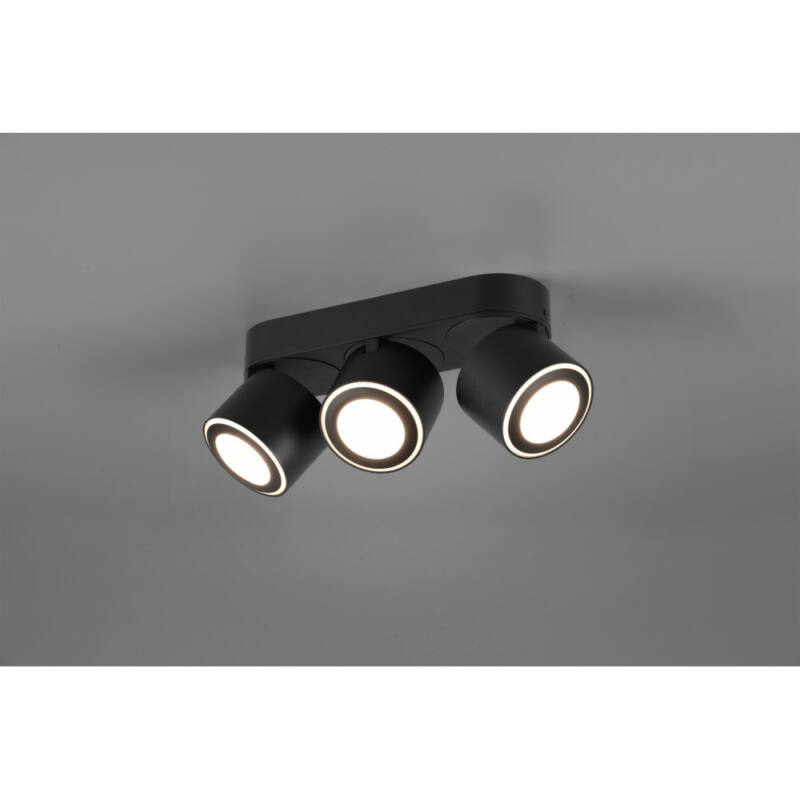 Trio TAURUS 652910332 mennyezeti spot lámpa incl. 3x3W/340Lm+3x1,5W/110Lm LED/ 3000K