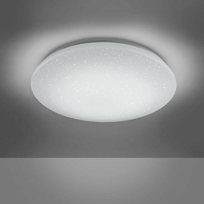 Trio CHARLY 656010100 mennyezeti lámpa  fehér   műanyag   incl. 1 x SMD, 27W, 3000 - 5500K, 2550Lm   2550 lm  IP20   A+