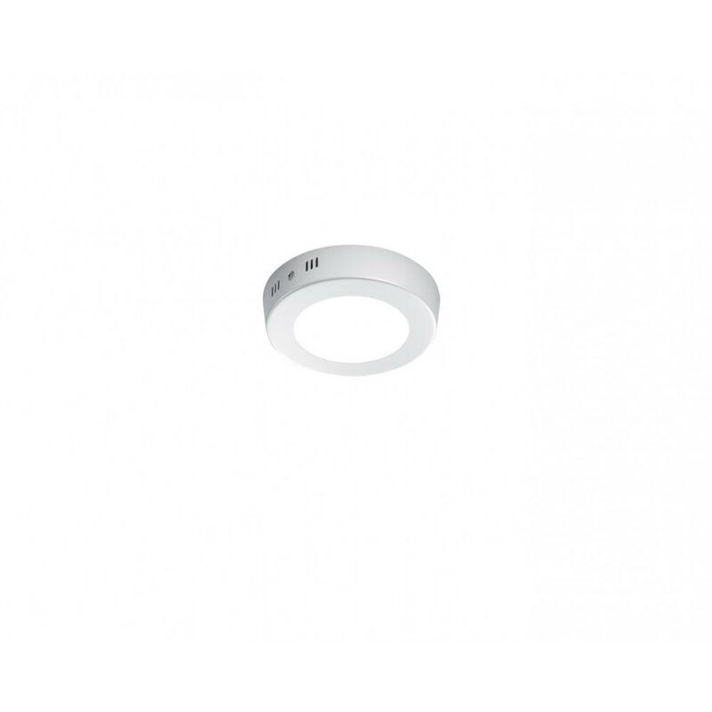 Trio CENTO 657010601 mennyezeti lámpa  fehér   alumínium   incl. 1 x SMD, 5,5W, 3000K, 450Lm   700 lm  3000 K  IP20   A++