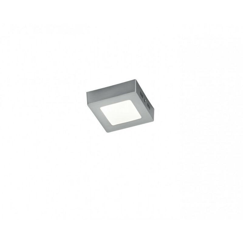 Trio ZEUS 657110607 álmennyezetbe építhető lámpa matt nikkel alumínium incl. 1 x SMD, 5,5W, 3000K, 450Lm 700 lm 3000 K IP20 A++