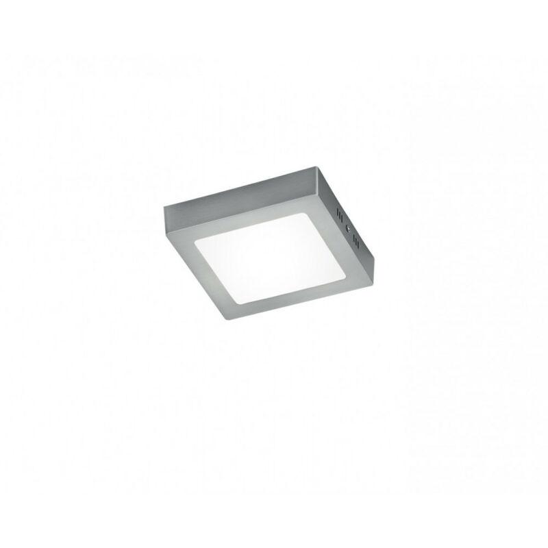 Trio ZEUS 657111207 mennyezeti lámpa matt nikkel alumínium incl. 1 x SMD, 12,5W, 3000K, 1100Lm SMD 1 db 1300 lm 3000 K IP20 A+