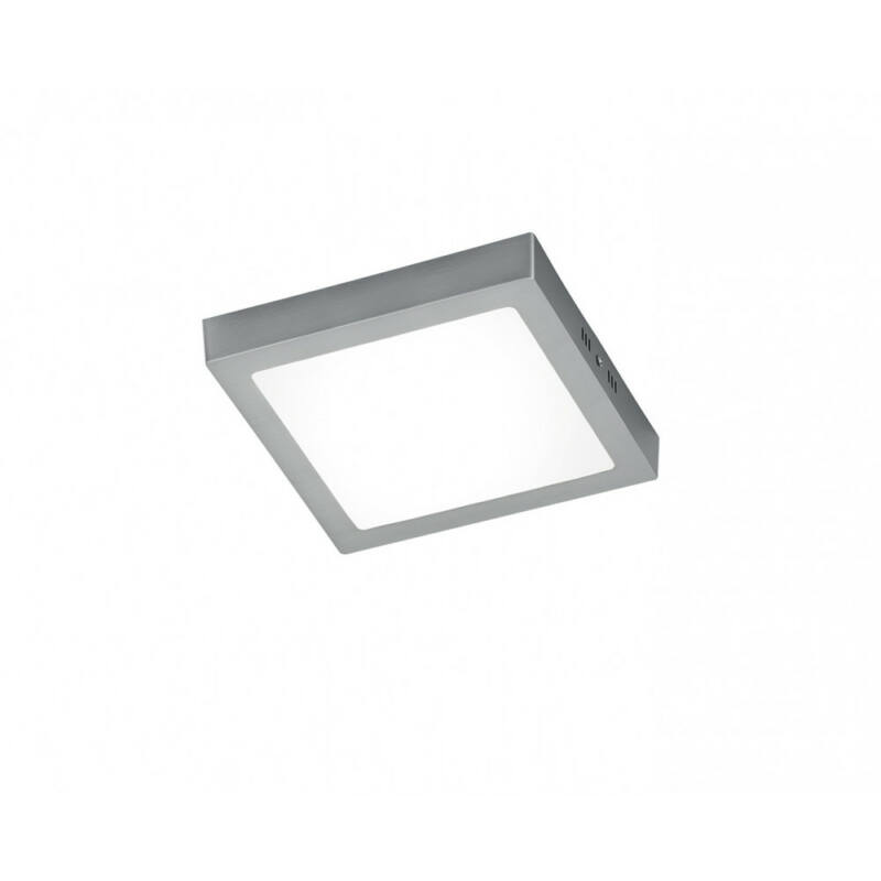 Trio ZEUS 657111807 mennyezeti lámpa  matt nikkel   alumínium   incl. 1 x SMD, 17W, 3000K, 1600Lm   2000 lm  3000 K  IP20   A+