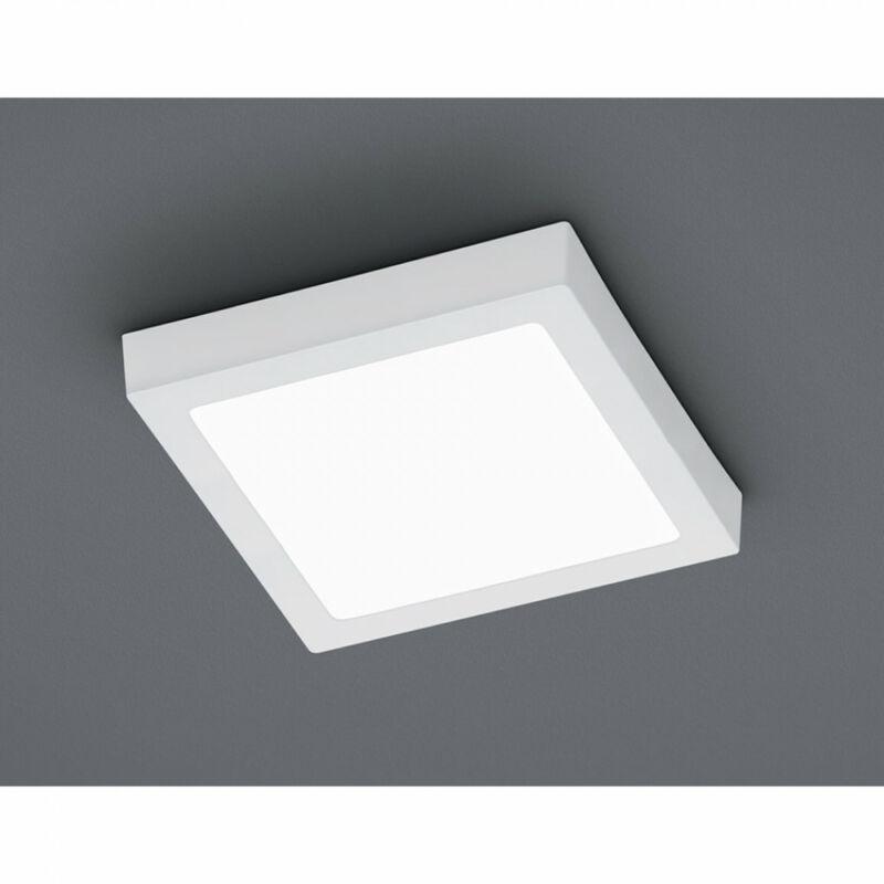 Trio ZEUS 657112401 mennyezeti lámpa  fehér   fém   incl. 1 x SMD, 24W, 3000K, 2100Lm   2100 lm  3000 K  IP20   A+