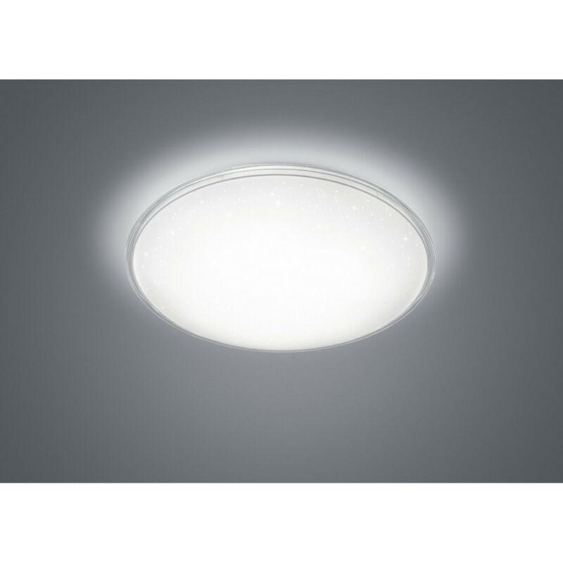 Trio CONDOR 657810100 mennyezeti lámpa  fehér   műanyag   incl. 1 x SMD, 21W, 4000K, 2200Lm   2200 lm  4000 K  IP20   A+