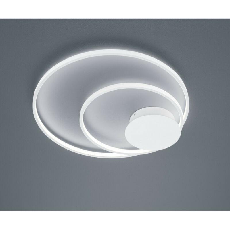 Trio SEDONA 673210231 mennyezeti lámpa matt fehér alumínium incl. 1 x SMD, 30W, 3000K, 2800Lm SMD 1 db 2800 lm IP20 A+