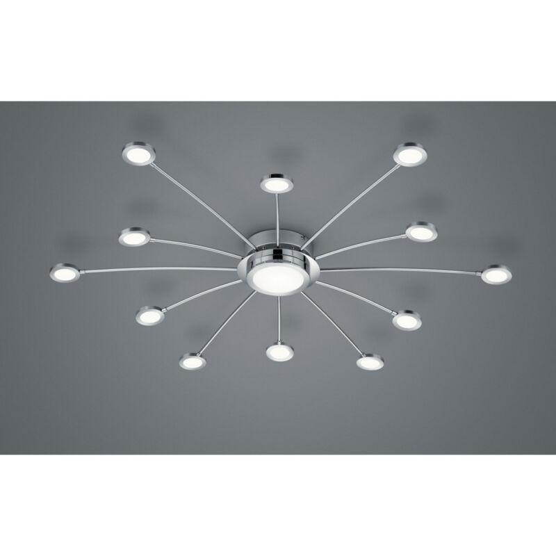 Trio BODRUM 673311306 mennyezeti lámpa  króm   fém   incl. 12 x SMD, 2,1W, 3000 - 6500K, 200Lm   200 lm  3000 K  IP20   A++