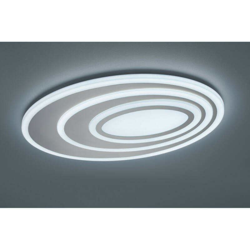Trio SUBARA 674510107 mennyezeti lámpa  fehér   műanyag   incl. 1 x SMD, 58W, 3000 - 5500K, 5400Lm   SMD   1 db  5400 lm  IP20   A+
