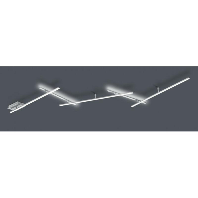 Trio INDIRA 674610507 mennyezeti lámpa  matt nikkel   fém   incl. 3 x SMD, 6W, 3000K, 650Lm   SMD   3 db  650 lm  IP20   A+