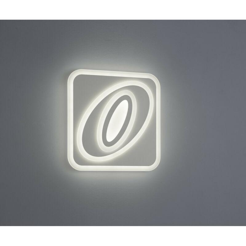 Trio SUZUKA 675070101 mennyezeti lámpa fehér műanyag incl. 1 x SMD, 60W, 3000 - 5500K, 5300Lm SMD 1 db 5300 lm IP20 A+