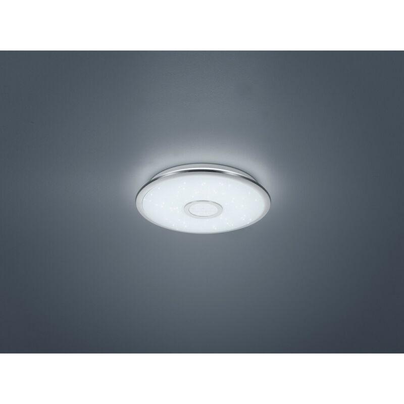 Trio OSAKA 678713006 mennyezeti lámpa króm műanyag incl. 1 x SMD, 30W, 3000 - 5500K, 3100Lm SMD 1 db 3100 lm 3000 K IP20 A+