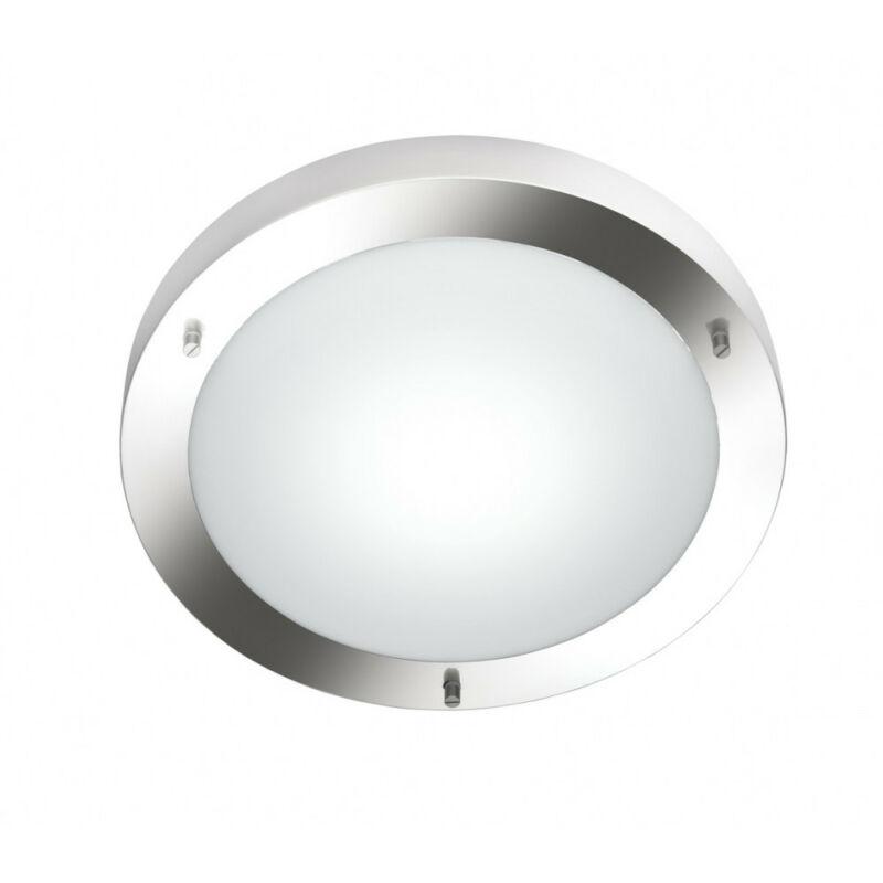 Trio CONDUS 6801011-07 fürdőszoba mennyezeti lámpa matt nikkel excl. 1 x E27, max. 60W E27 1 db IP44