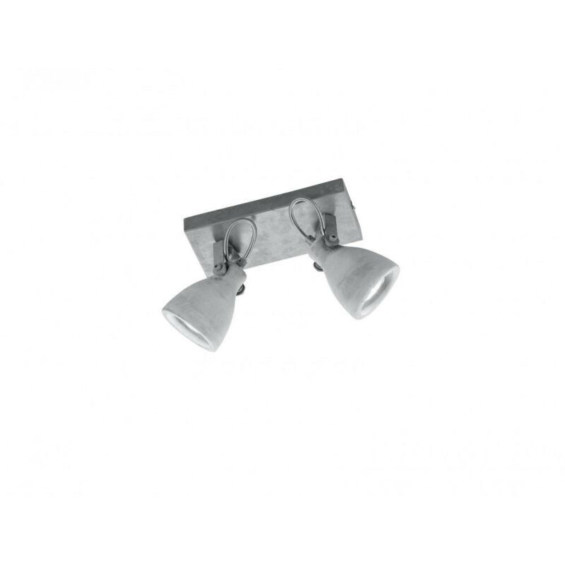 Trio CONCRETE 802500278 mennyezeti spot lámpa beton fém excl. 2 x GU10, max. 42W GU10 2 db IP20