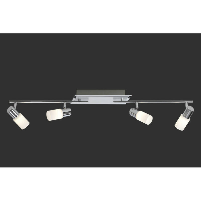 Trio CLAPTON 821410405 mennyezeti lámpa króm incl. 4 x SMD, 4,3W, 3000K, 430Lm LED 2700 K