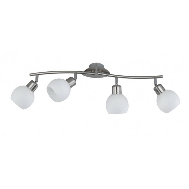 Trio FREDDY 824810407 mennyezeti lámpa nikkel fém incl. 4 x E14, 4W, 3000K, 320Lm E14 4 db 1240 lm 2700 K IP20
