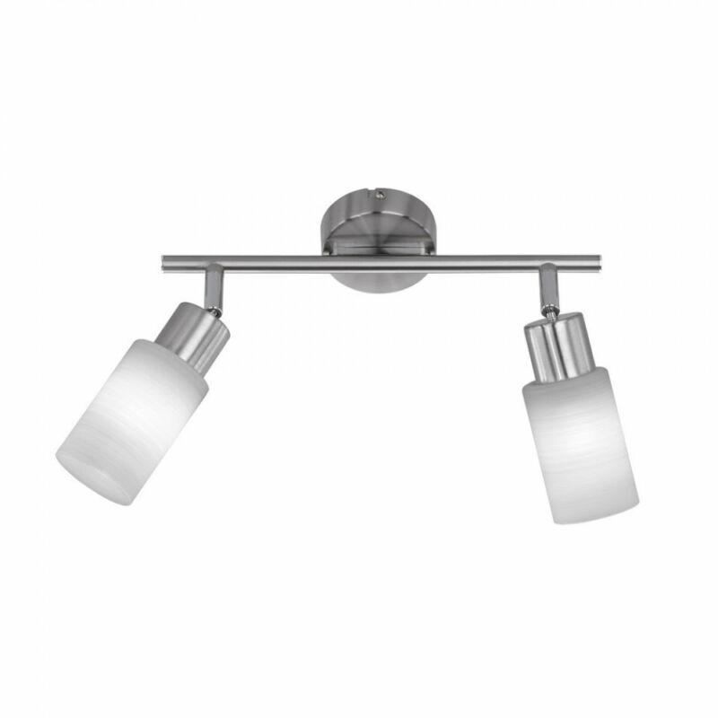 Trio JONES 871410207 mennyezeti lámpa  nikkel   fém   incl. 2 x E14, 4W, 3000K, 320Lm   310 lm  2700 K  IP20