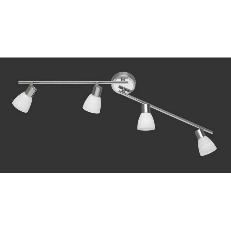 Trio CARICO 871510407 mennyezeti lámpa matt nikkel fém incl. 4 x G9, 3,5W, 3000K, 300Lm G9 4 db 300 lm 3000 K IP20