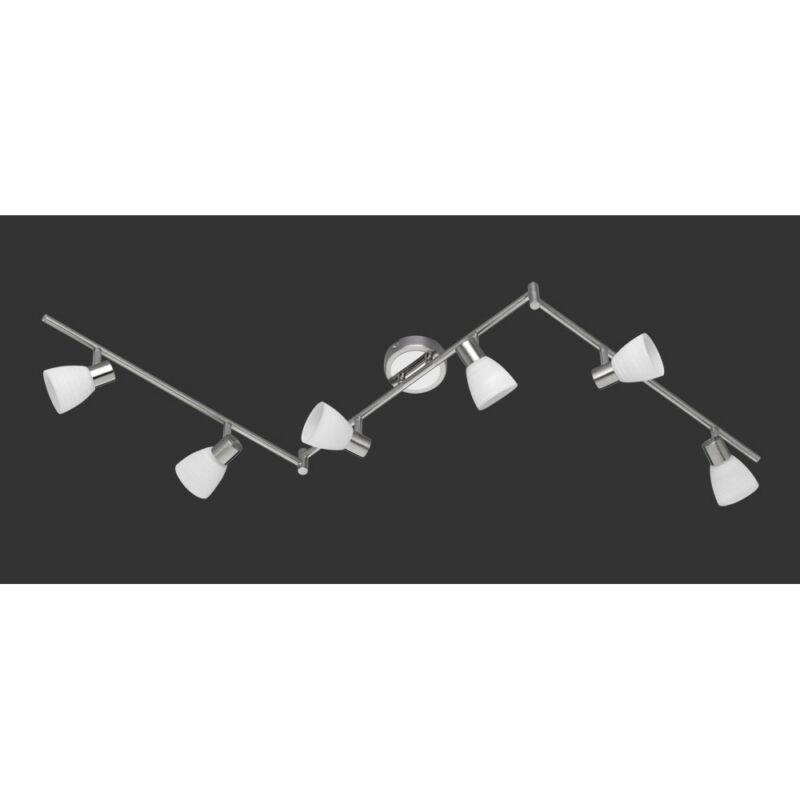 Trio CARICO 871510607 mennyezeti lámpa  matt nikkel   fém   incl. 6 x G9, 3,5W, 3000K, 300Lm   300 lm  3000 K  IP20