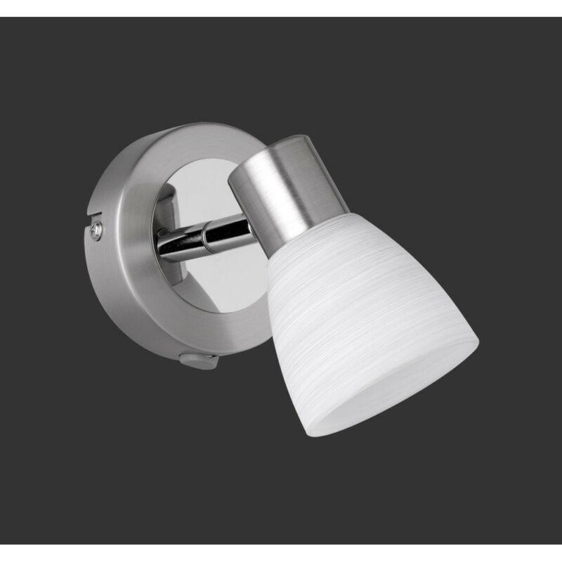 Trio CARICO 871570107 fali lámpa matt nikkel fém incl. 1 x G9, 3,5W, 3000K, 300Lm G9 1 db 300 lm 3000 K IP20