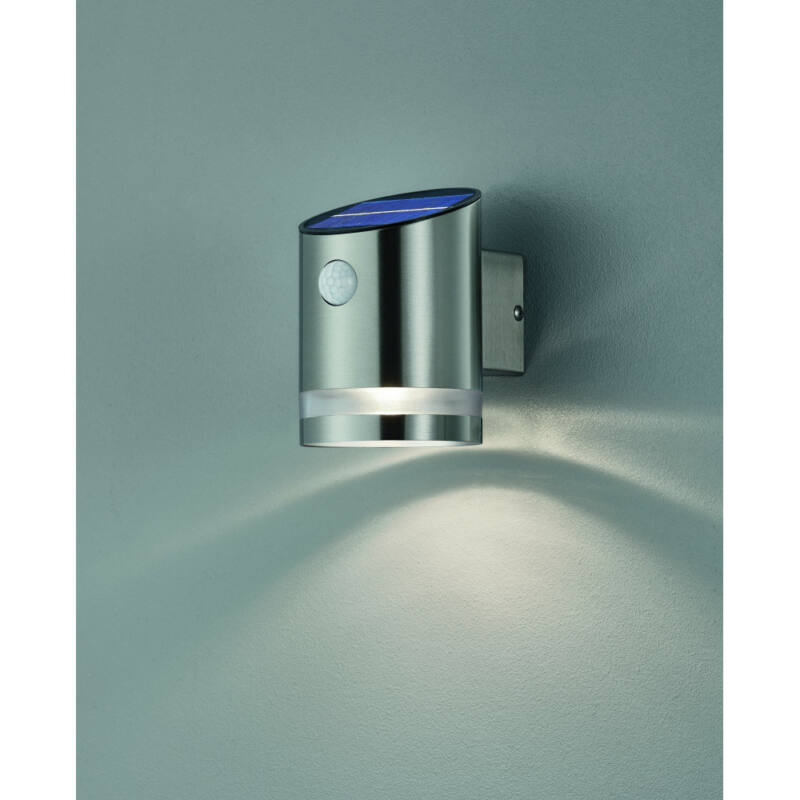 Trio SALTA R22231107 napelemes kültéri fali lámpa incl. 3W LED/ 3000K/ 240lm