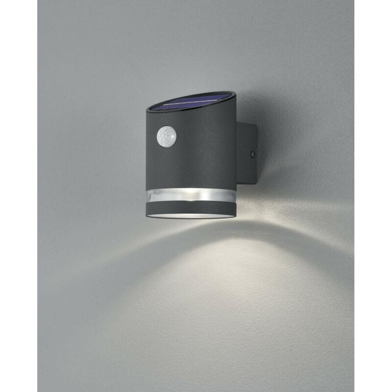 Trio SALTA R22231142 napelemes kültéri fali lámpa incl. 3W LED/ 3000K/ 240lm