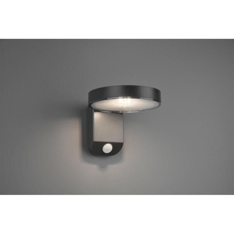 Trio POSADAS R22251142 napelemes kültéri fali lámpa incl. 4,5W LED/ 3000K/ 200lm