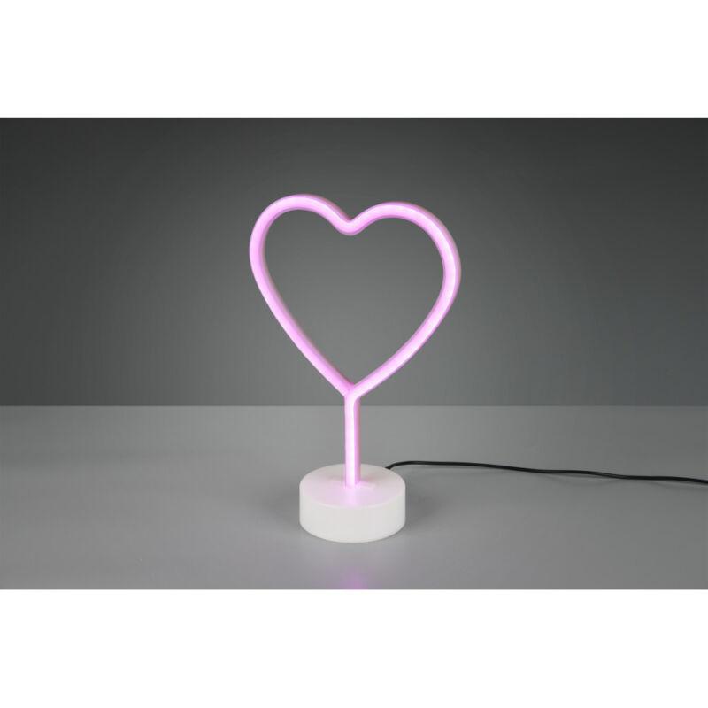 Trio HEART R55210101 hangulatfény incl. 1W LED/ 10Lm
