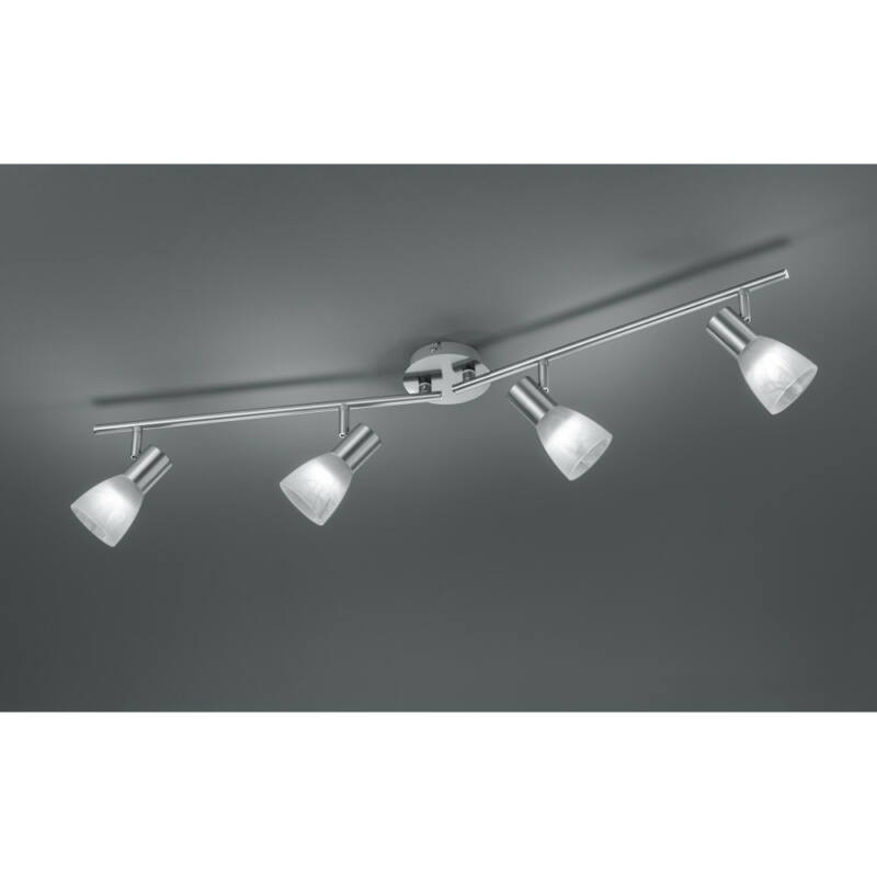 Trio VISTO R82231407 mennyezeti spot lámpa inkl. 4 x E14/ 4W LED/ 3000K/ 320Lm