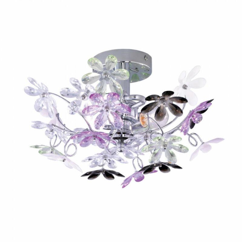 Trio FLOWER R20012017 mennyezeti lámpa  fém   excl. 2 x E14, max. 40W   E14   2 db  IP20