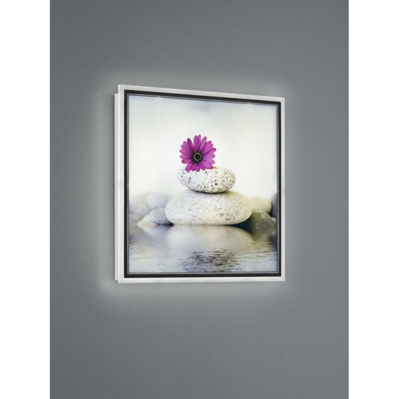Trio Zen R22140101 képmegvilágító lámpa fehér fém incl. 12,5W LED/ 3000K/ 1100Lm SMD 1 db 1100 lm 3000 K IP20 A+