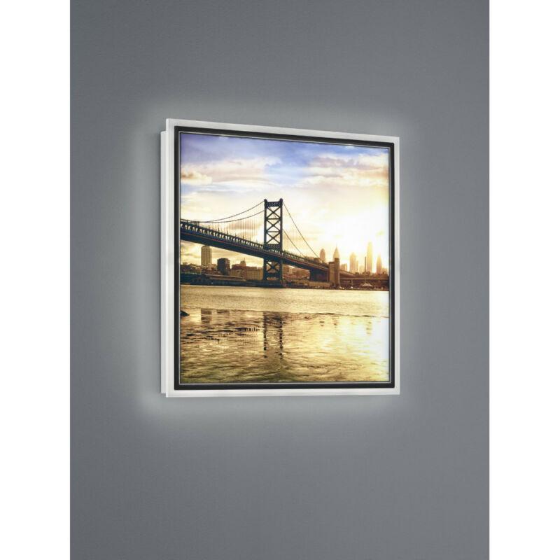 Trio BRIDGE R22140201 képmegvilágító lámpa fehér műanyag incl. 12,5W LED/ 3000K/ 1100Lm SMD 1 db 1100 lm IP20 A+