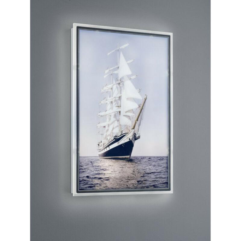 Trio CLIPPER R22149101 képmegvilágító lámpa fehér műanyag incl. 16W LED/ 3000K/ 1400Lm SMD 1 db 1400 lm IP20 A