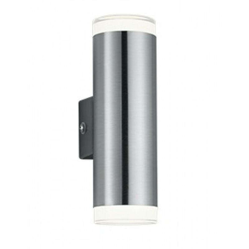 Trio ARACATI R28212107 kültéri fali led lámpa matt nikkel fém incl. 2 x SMD, 4W, 3000K, 340Lm 340 lm 3000 K IP44 A+