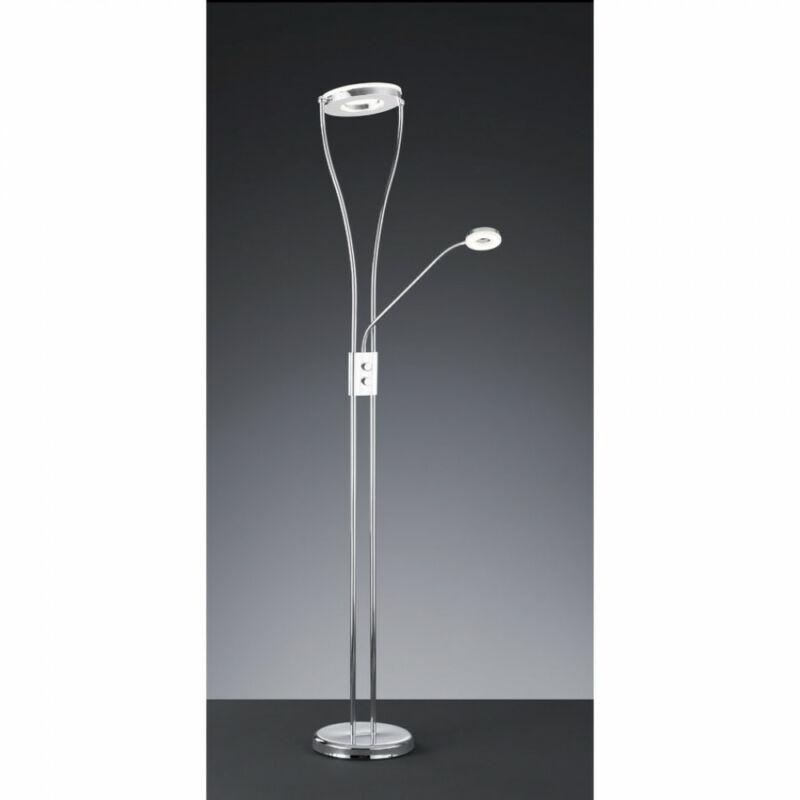 Trio RENNES R42412106 állólámpa króm fém incl. 1 x SMD, 18W, 3000K, 1500Lm LED 2 db 1500 lm 2700 K IP20
