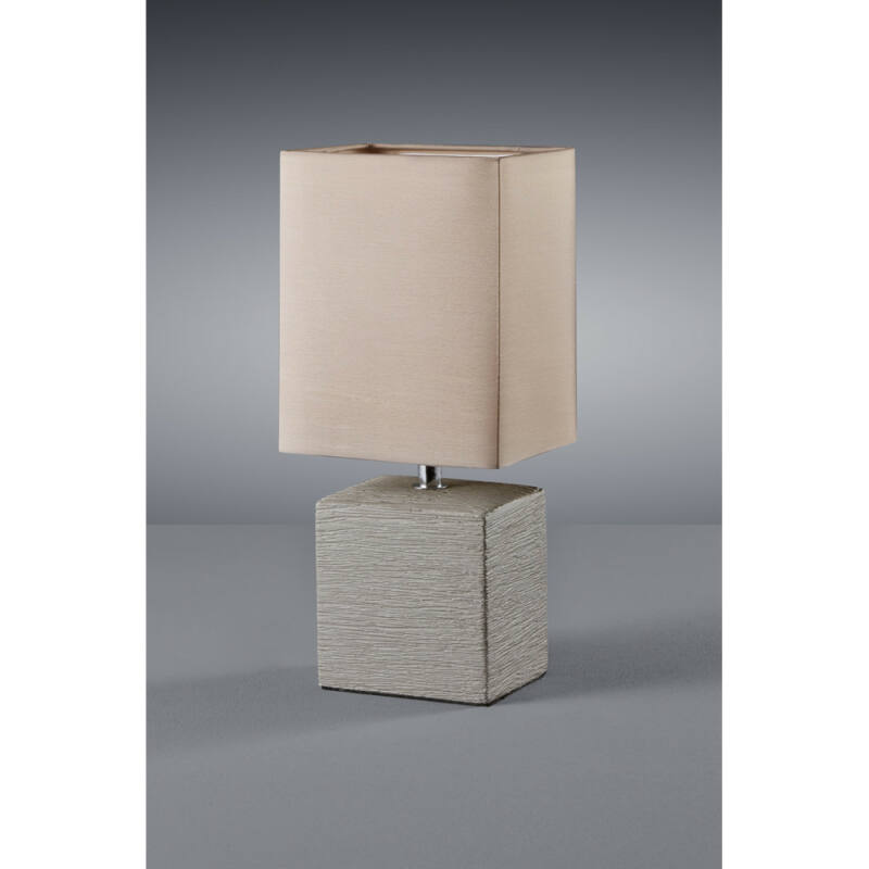 Trio PING R50131026 asztali lámpa kerámia excl. 1 x E14, max. 40W E14 1 db 370 lm 2700 K IP20