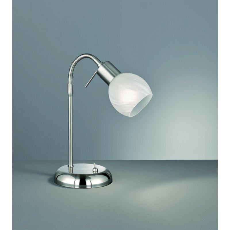 Trio ANTIBES R50171007 íróasztal lámpa matt nikkel fém excl. 1 x E14, max. 28W E14 1 db IP20