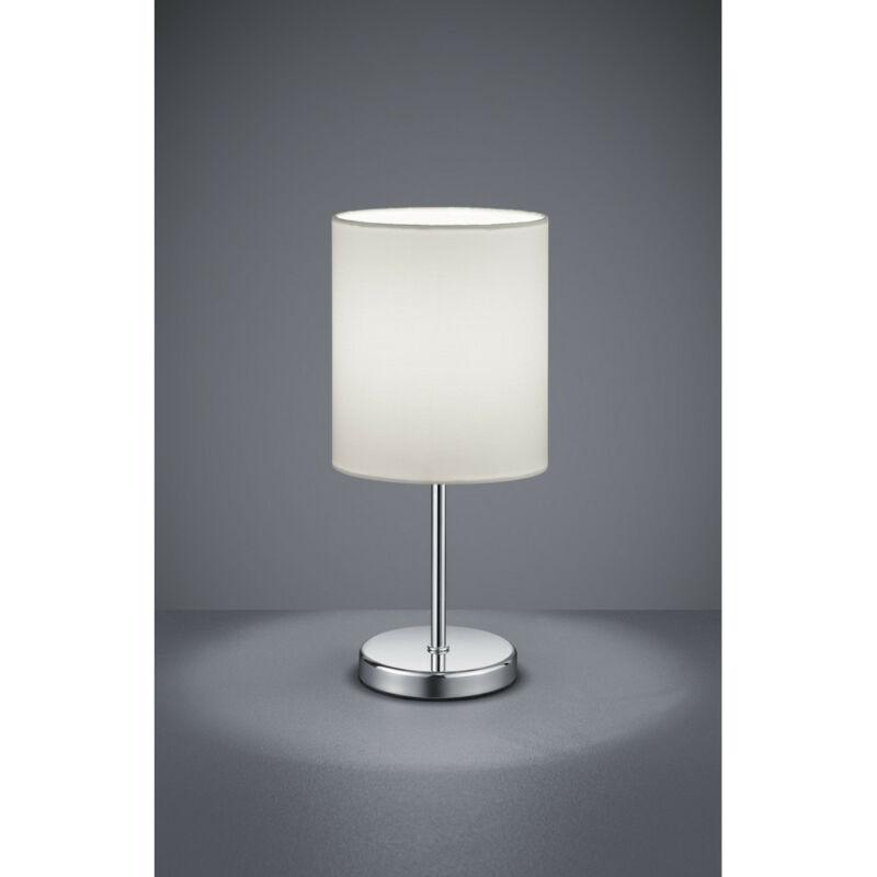 Trio JERRY R50491001 éjjeli asztali lámpa króm fém excl. 1 x E14, max. 40W E14 1 db IP20